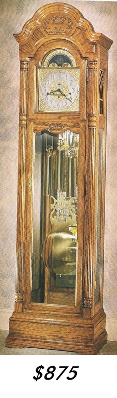 Ridgeway Grandfather Clock - u0026quot;Best Service, Best Price, Guaranteed!Come Visit Us Today! 53546 ...